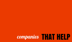 thathelps companies that helps